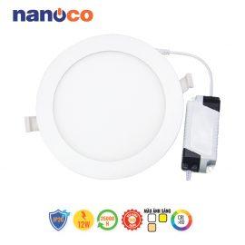 Đèn LED âm trần đổi màu 12W Nanoco NSD12C1