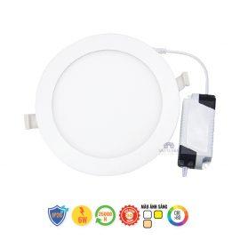 Đèn LED âm trần đổi màu 6W Nanoco