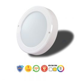 Đèn LED ốp trần cảm biến D LN05L 220/14W RAD.DA Rạng Đông