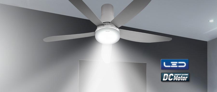 Quạt trần panasonic f-60ufn cấp độ quạt đa dạng, lưu lượng gió lớn