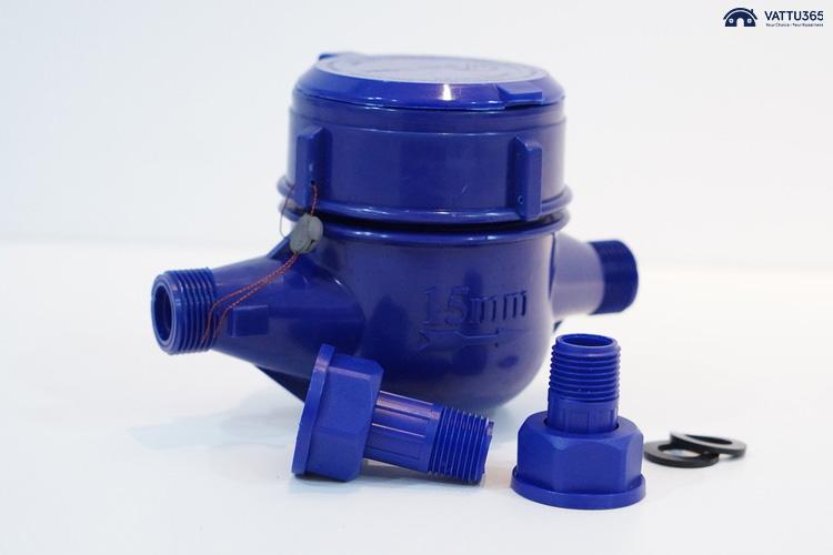 """""""Điểm danh"""" các đồng hồ nước nhựa chất lượng trên thị trường"""