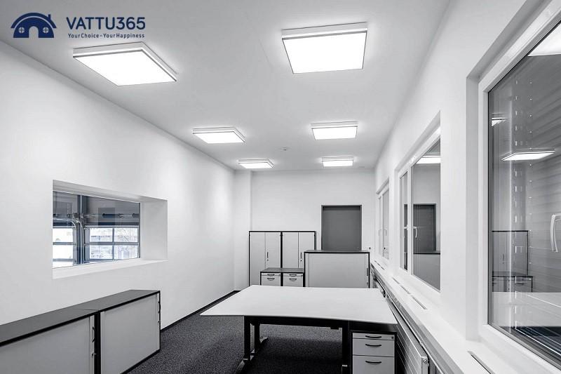 đèn ốp trần led văn phòng