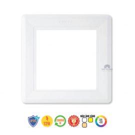 Đèn LED âm trần vuông 12W Slimlit 59514 Philips