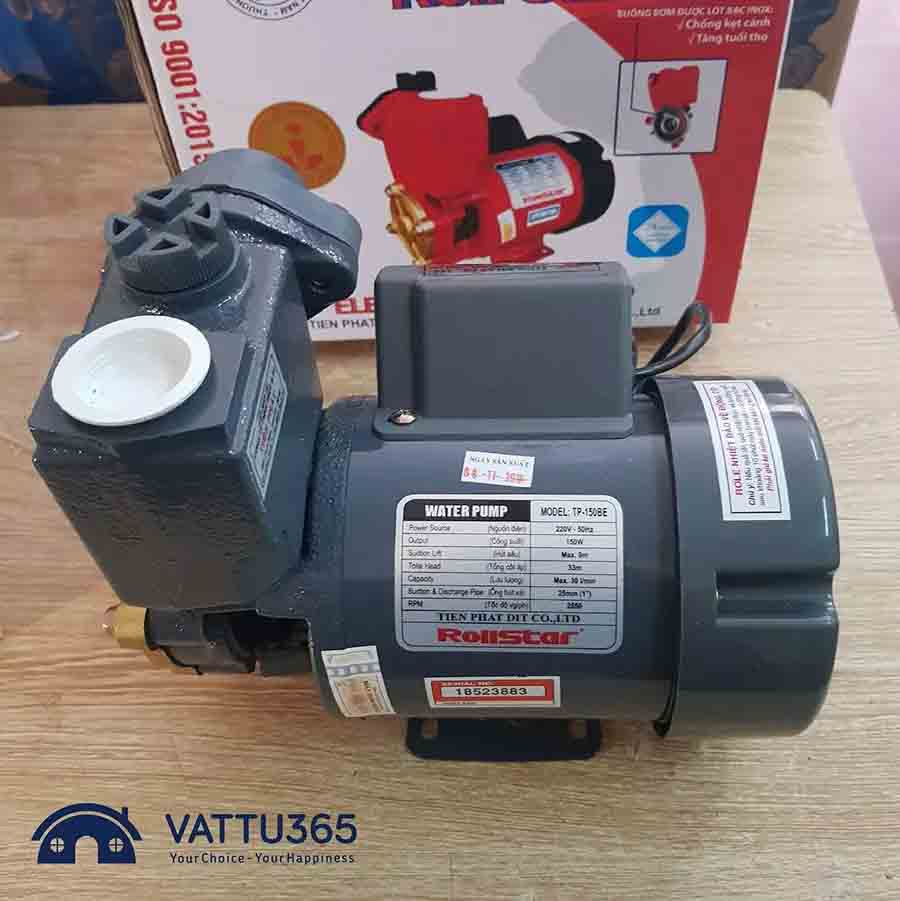 Các loại máy bơm nước chân không chất lượng và giá rẻ hiện nay