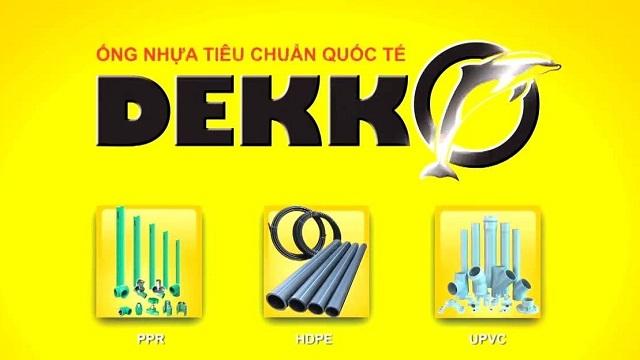 Bảng giá ống nhựa Dekko 2021 chiết khấu cao | PPR, PVC, HDPE