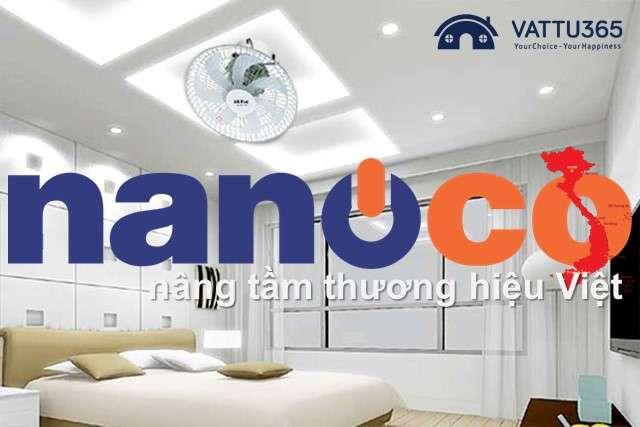 Thương hiệu Nanoco là của nước nào?