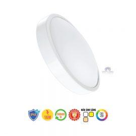 Đèn led ốp trần 3 màu MPE CL-16/3C tròn