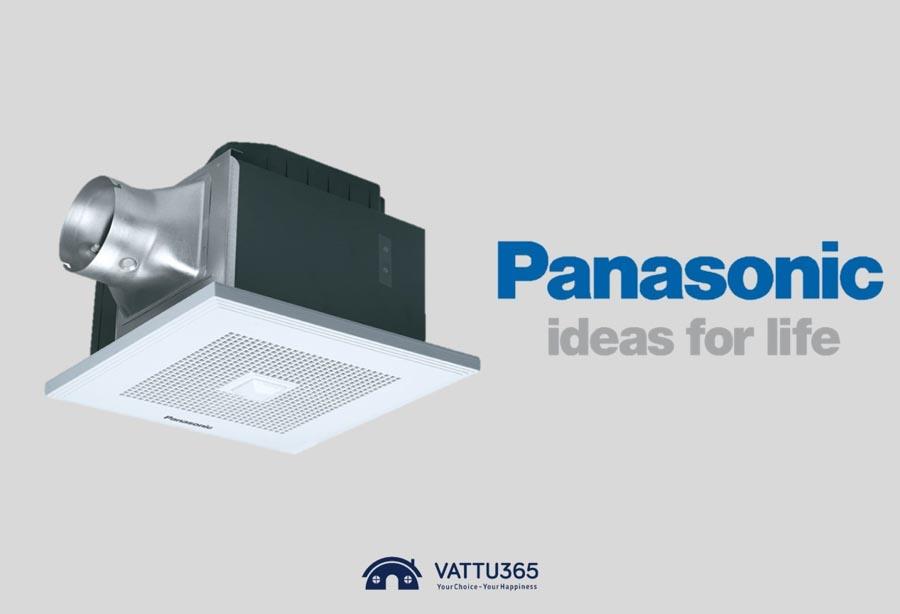 Gợi ý 5 mẫu quạt thông gió âm trần Panasonic chất lượng, giá rẻ