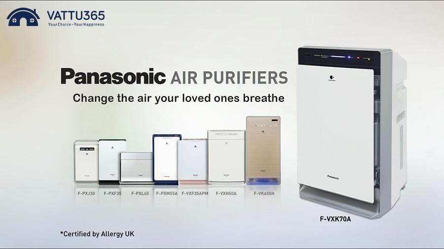 Các dòng Máy lọc không khí Panasonic