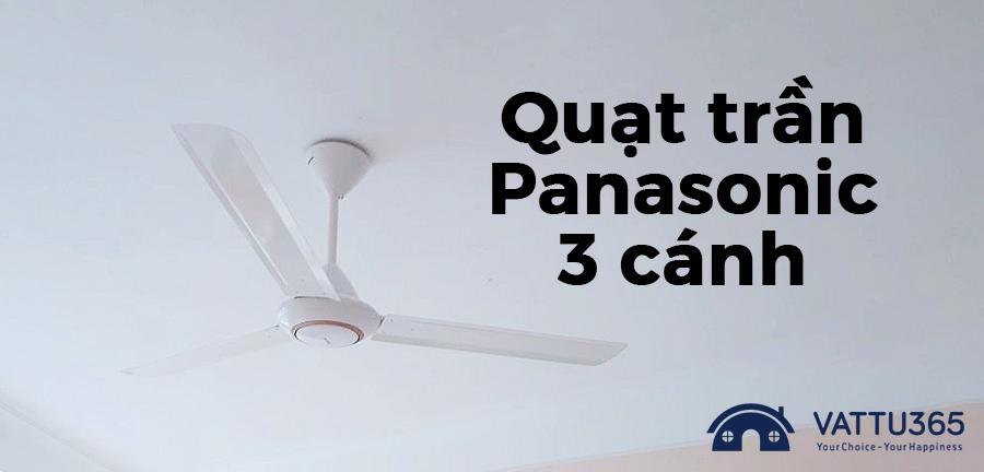 Quạt trần Panasonic công nghệ 1/F Yuragi tạo gió tự nhiên