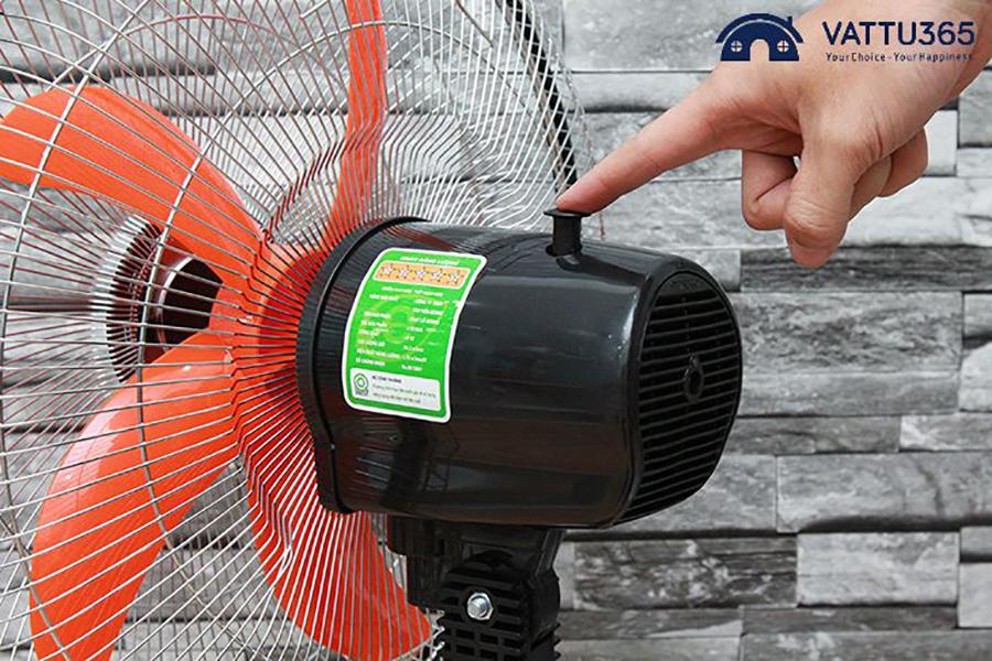 Cách gắn cánh quạt điện thông thường