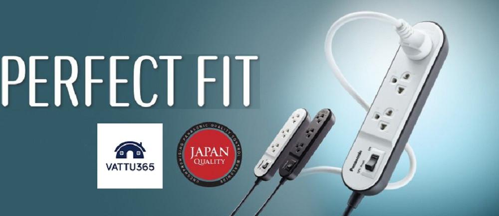 Mua ổ cắm điện có dây Panasonic giá tốt tại Vật Tư 365