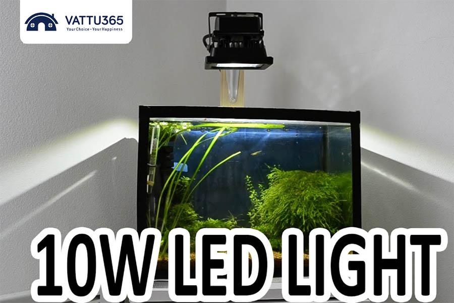 Đèn pha led 10w chiếu sáng thẩm mỹ