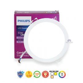 Đèn led âm trần Philips 5.5W