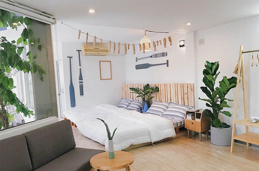 Đèn led âm trần philips trang trí phòng ngủ