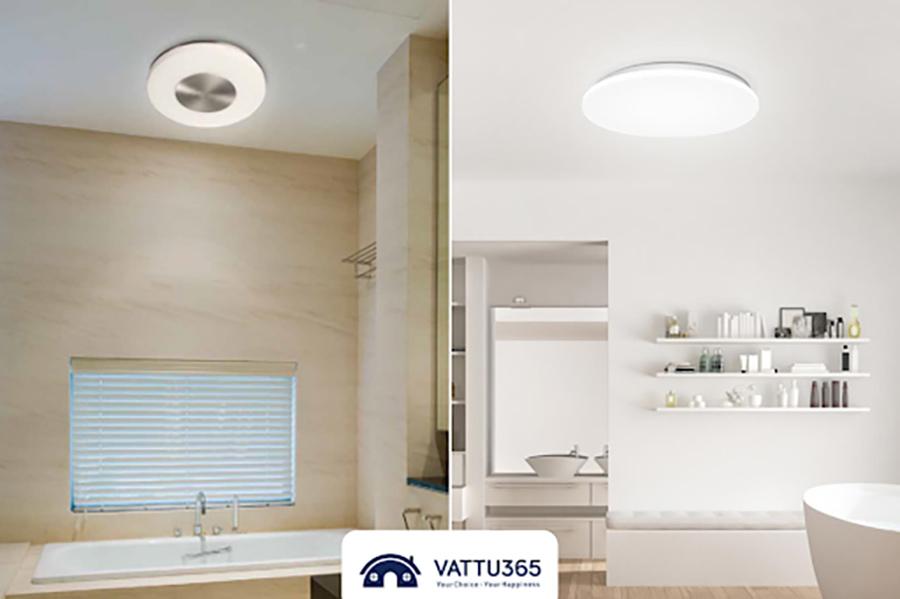 bóng đèn led ốp trần cho phòng tắm