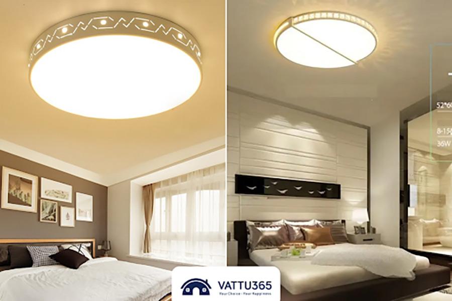 giá đèn ốp trần cho phòng ngủ