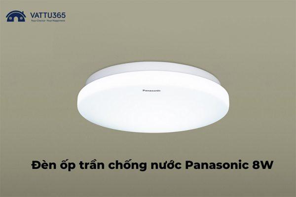 Đèn ốp trần Panasonic chống ẩm 8W