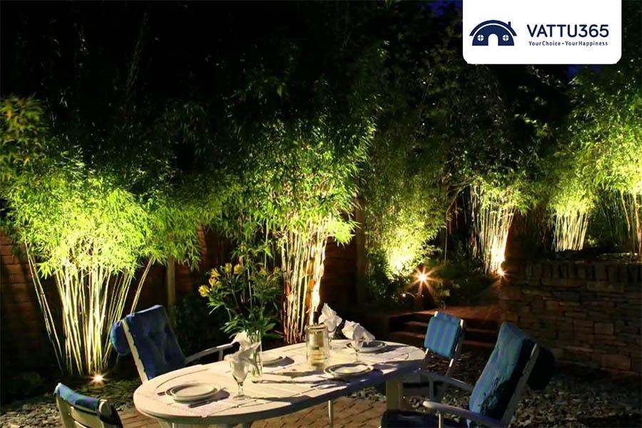 Đèn chiếu sáng sân vườn đẹp