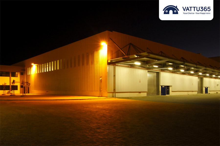 Đèn led pha 150w cho công xưởng