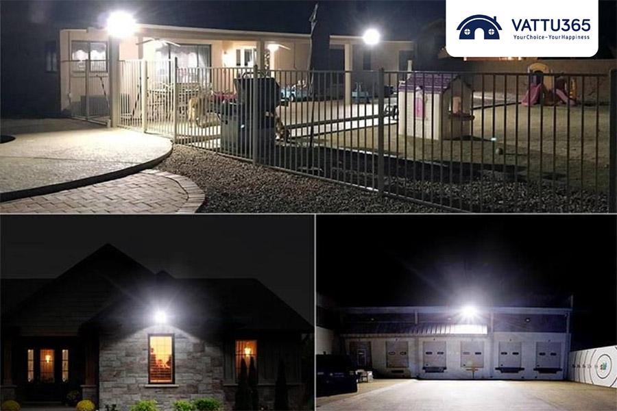 Sử dụng chiếu sáng sân nhà
