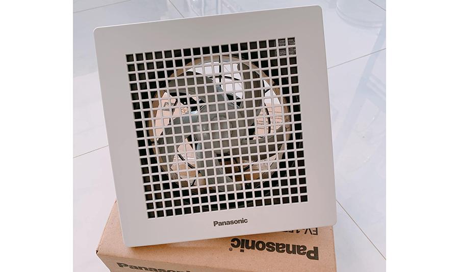 Quạt hút âm trần có tác dụng khử mùi và duy trì không khí sạch cho nhà vệ sinh