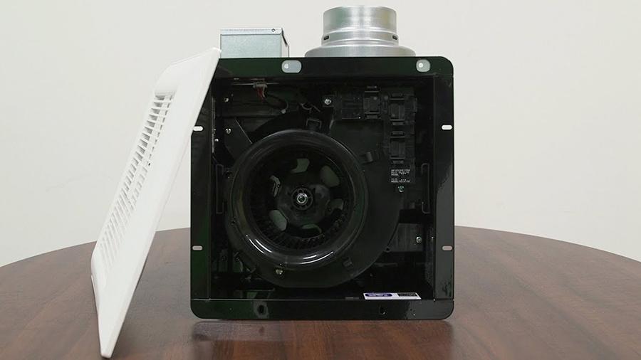 Hình ảnh thực tế sản phẩm quạt âm tường Panasonic