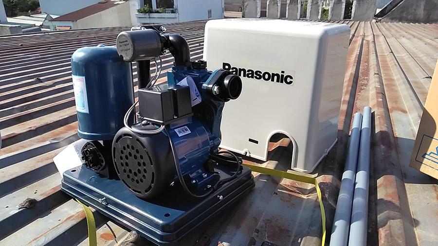 Lắp đặt máy bơm panasonic