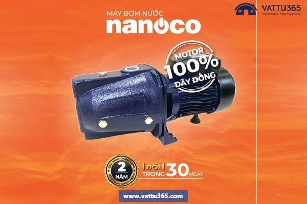 Máy bơm đẩy cao Nanoco loại nào tốt?