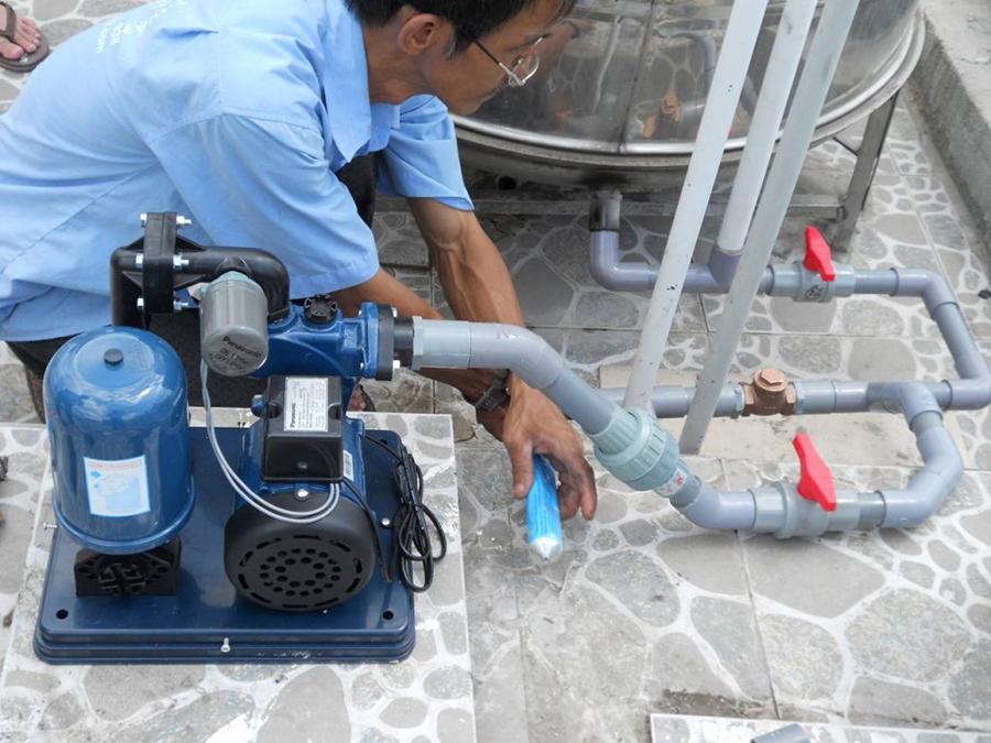 Máy bơm nước Panasonic dùng để bơm nước sinh hoạt