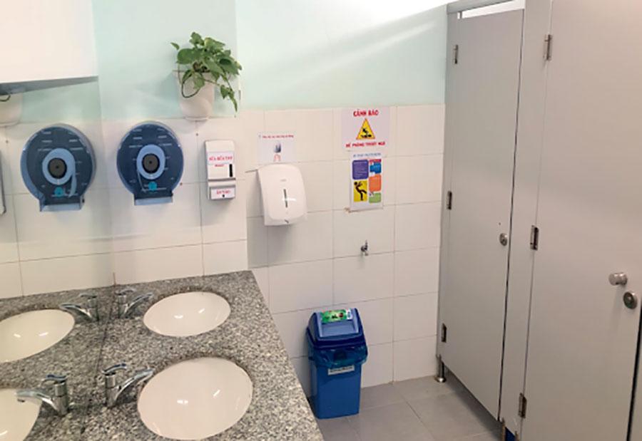 Máy sấy tay Panasonic được ứng dụng trong bệnh viện
