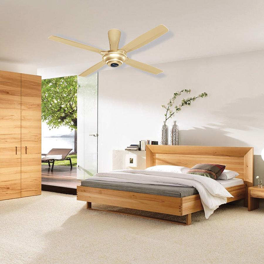 Phòng ngủ đẹp hơn với quạt trần Panasonic