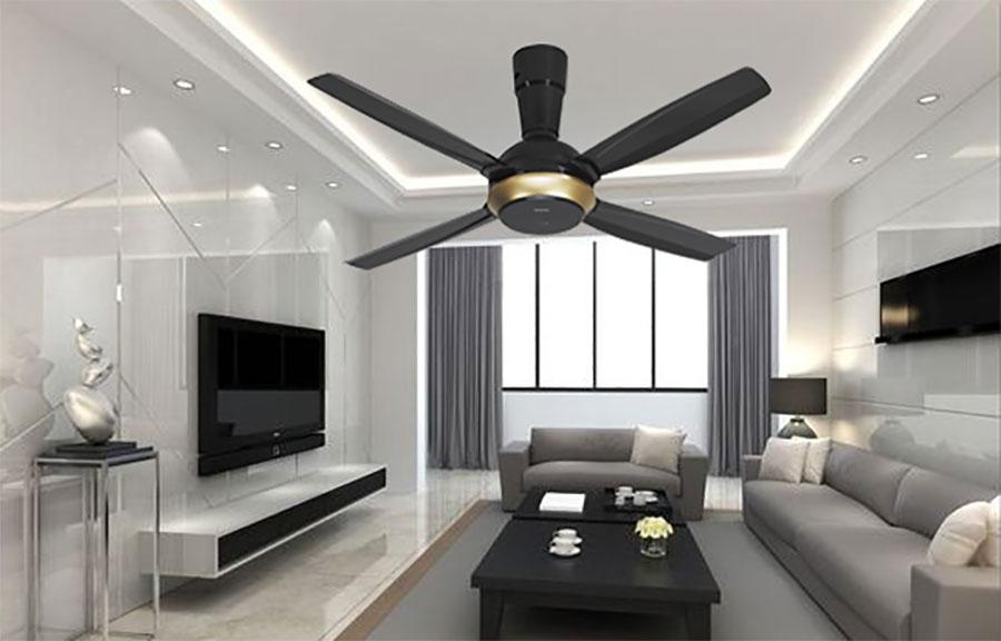 Phòng khách sang trọng hơn với quạt trần Panasonic