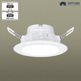 Đèn LED âm trần 12W IP44 chống ẩm Panasonic | DN Series chính hãng, giá rẻ